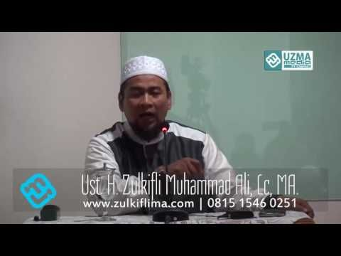 Muslim Yang Berpotensi Murtad Ust Zulkifli Muhammad Ali, Lc, MA Youtube
