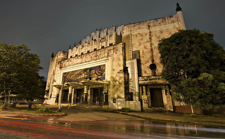 Manila Metropolitan Theater.