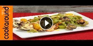 Reginette verdi allo scoglio - La video ricetta