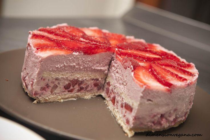 TODAS LAS RECETAS : Torta cruda de fresa (RAW)