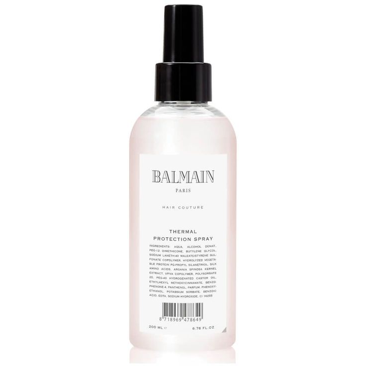 Buy Balmain Hair Thermal Spray 200ml , luxury skincare, hair care, makeup and beauty products at Lookfantastic.com with Free Delivery. #haircareshop,