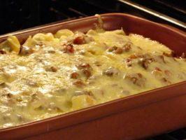 Receita de Torta de queijo e doce de leite - Recetinhas da Vovo