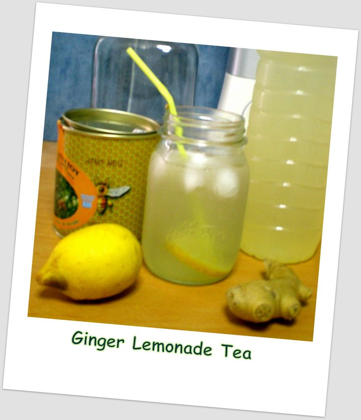 Refreshing Ginger-Lemonade w/Raw Honey Tea for Weight Control/Cleanse & Detox