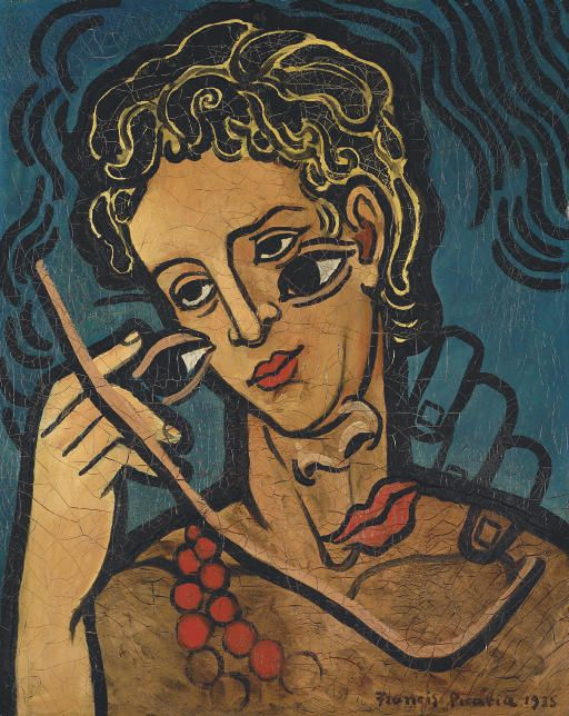 Francis Picabia - Transparence  (Deux Tetes)