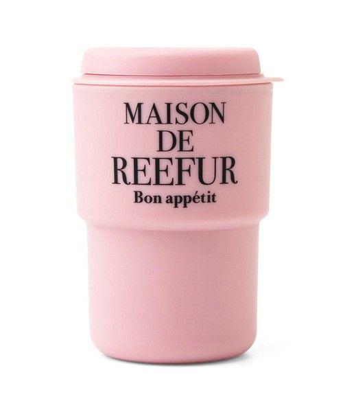 MAISON DE REEFUR(メゾン ド リーファー)のリーファーロゴタンブラー(グラス/マグカップ/タンブラー)|ピンク