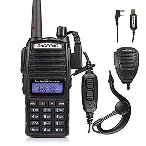 Baofeng Pofung UV-82L 136-174/400-520MHz Ham Two-way Radio + Cable&CD + Speaker #Baofeng #Pofung #/ #Radio #Cable&CD #Speaker