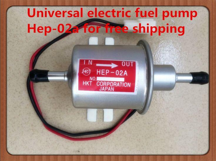 יוניברסל דיזל בנזין בנזין 12 v חשמלי משאבת דלק HEP-02A לחץ נמוך עבור רוב המכונית אופנוע קרבורטור טרקטורונים
