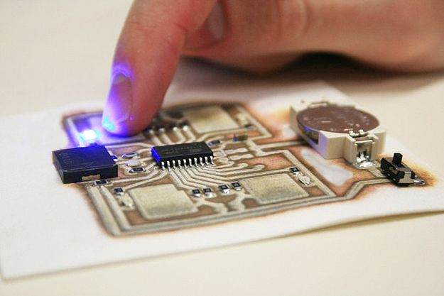 EX1 3D Printer Enables Circuit Board Printing On Anything #technology