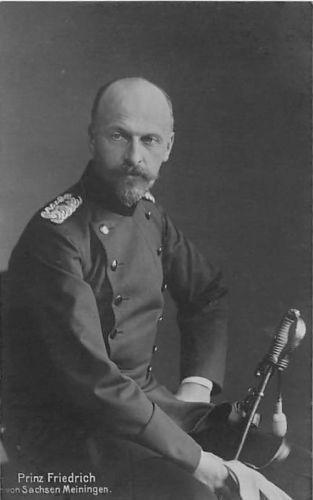 Prinz Friedrich von Sachsen-Meiningen
