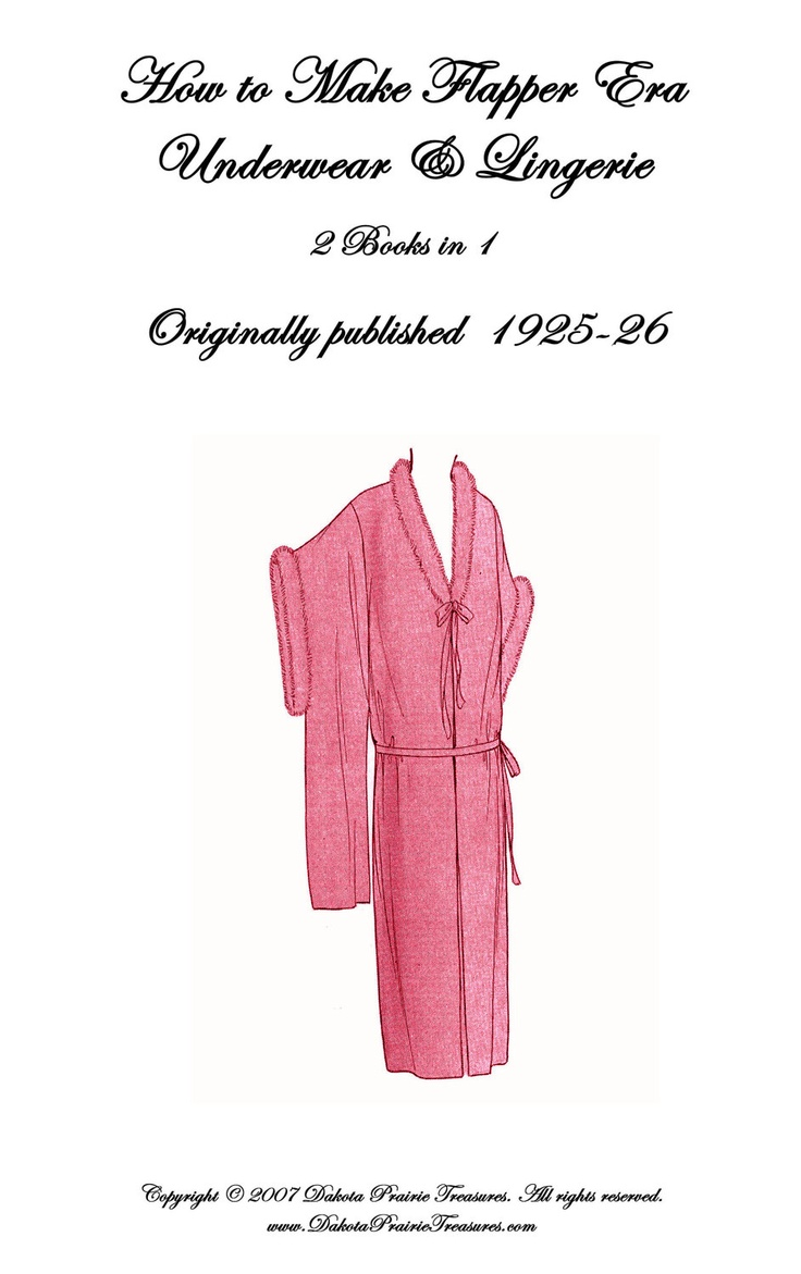 Amazoncom: 1920 Flapper Combination Underwear Pattern