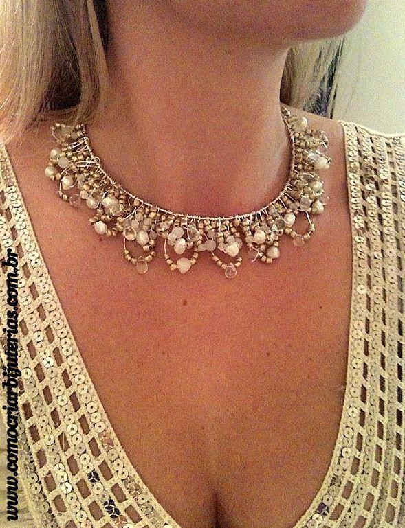 many necklace tutorials