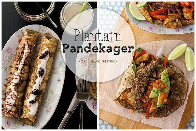 Min paleo verden: Plantain pandekager