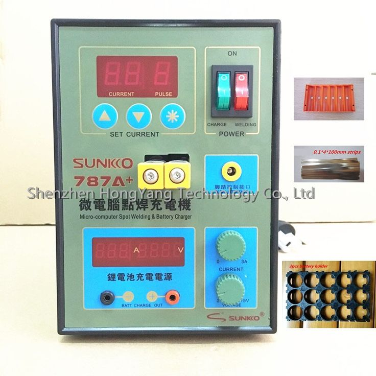 149.90$  Watch more here  - SUKKO LED Pulse Battery Spot welder 787A+ Spot welding Machine Micro-computer 18650 micro welding with LED light+Battery Clamp