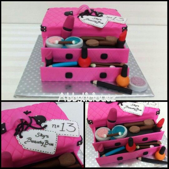 Makeup Kit Cake Images : 154 best images about Make-up kits I like on Pinterest ...