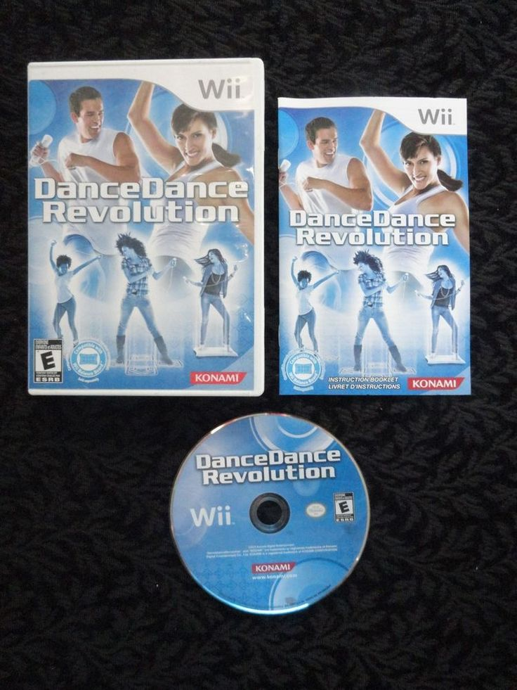 Complete Nintendo Wii Dance Dance Revolution Game - FREE SHIPPING