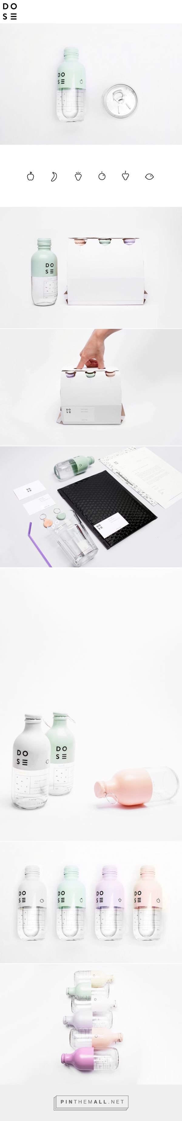 DOSE on Behance by Nora Kaszyani Curated by Packaging Diva PD.  School packaging…