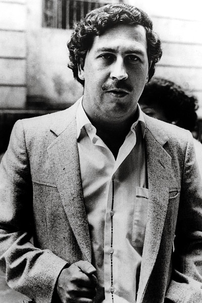 Pablo Escobar....his enigmatic persona fascinates me so much, its exquisite. I may be obsessed with wanting to know more about him.
