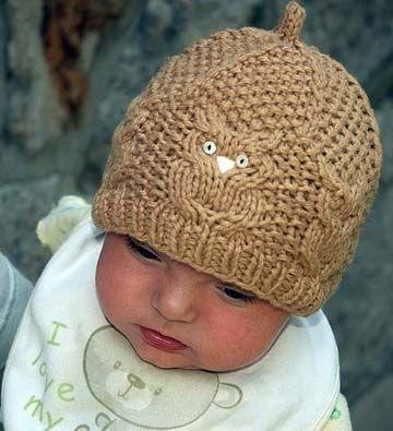 Малыши с удовольствием носят такие шапочки