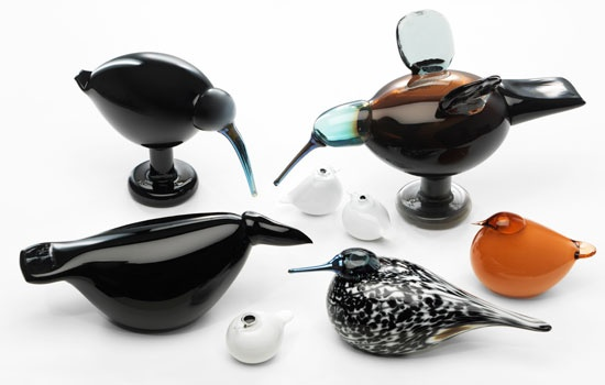 iittala Toikka Glass Birds