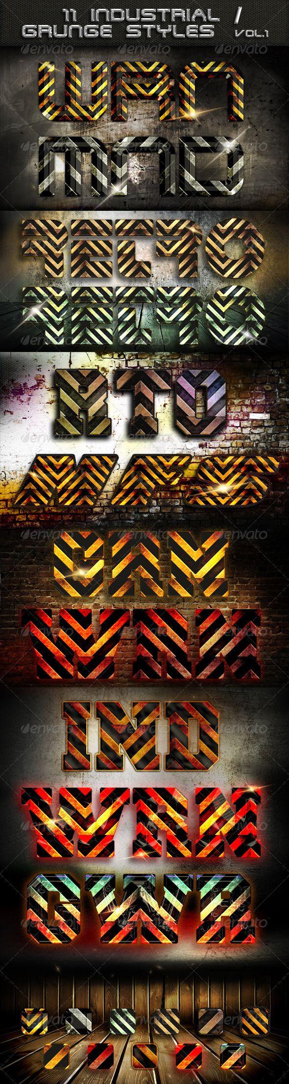 11 Industrial / Grunge  Styles