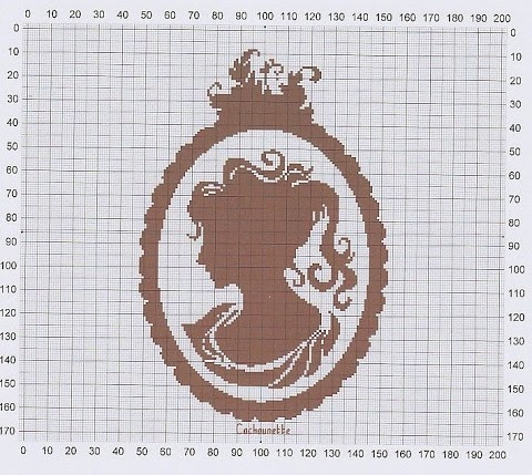 Cameo cross stitch