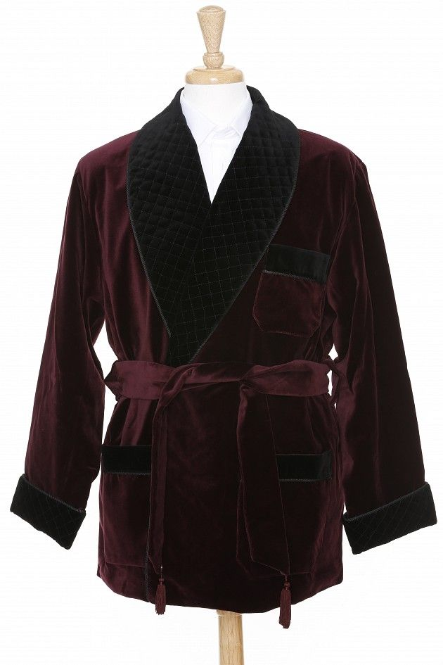 Smoking jackets has been designed for the purpose of protecting the clothes from damage during tobacco smoking, most commonly in the form of cigars or pipes just for domestic leisure. So, basically this jacket got its popularity as a protective wear.
