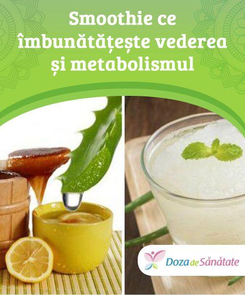 Smoothie ce îmbunătățește vederea și metabolismul  Combinația de ingrediente din acest smoothie ajută la prevenirea degenerării maculare și a cataractei, dar și la vindecarea leziunilor de la nivelul ochilor. În plus, contribuie la accelerarea metabolismului. Încearcă-l și tu!