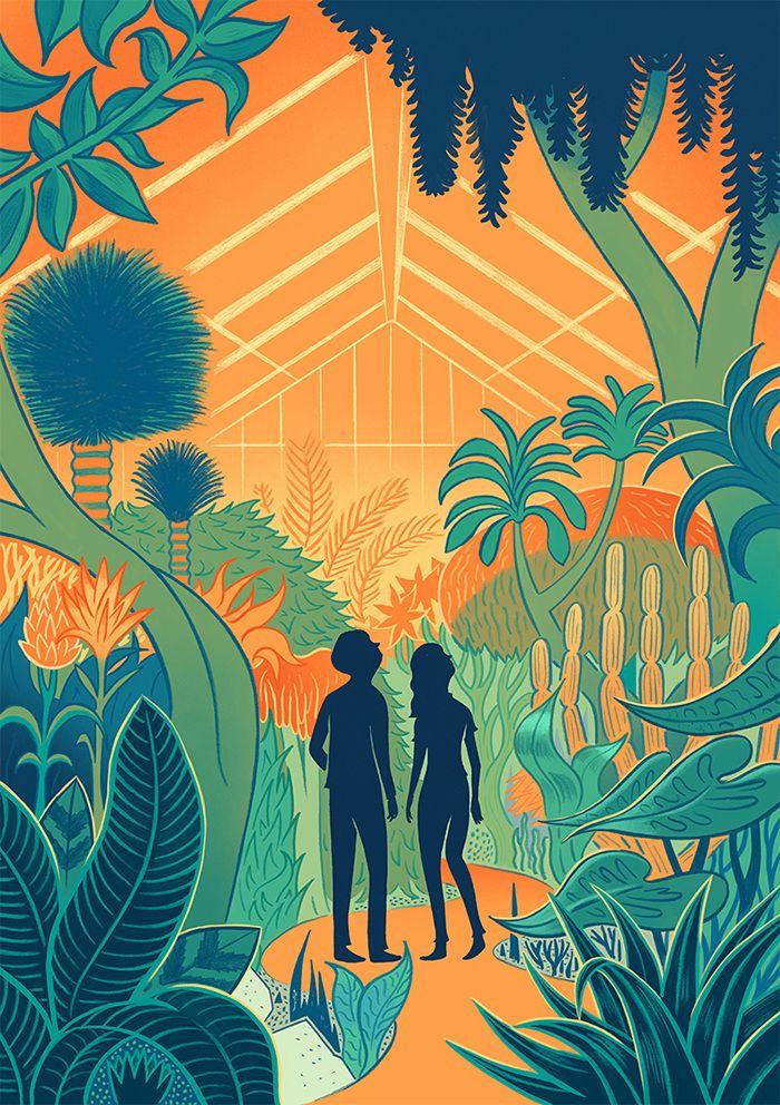 Kew Gardens Invitation - Robert Frank Hunter