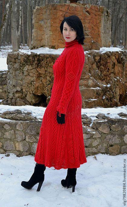 Вязанные платья и на заказ