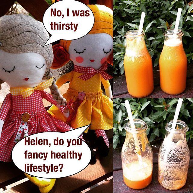Dolls by holalotta, juices by sicilian nature! #etsy #etsyshop  #dolls #handmadedoll #juice #sicilia #healthyeating #healthylifestyle