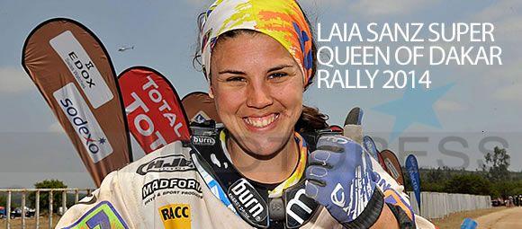 Laia Sanz Dakar Woman Rider Extraordinaire Claims Incredible 16th Overall