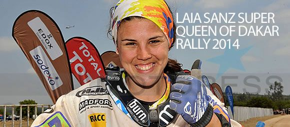 Laia Sanz Dakar Woman Rider Extraordinaire Claims Incredible 16th Overall