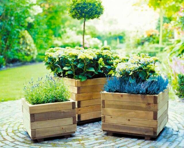 Best 20+ Wooden Planters Ideas On Pinterest