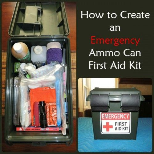 How to Create an Emergency Ammo Can First Aid Kit | Backdoor Survival