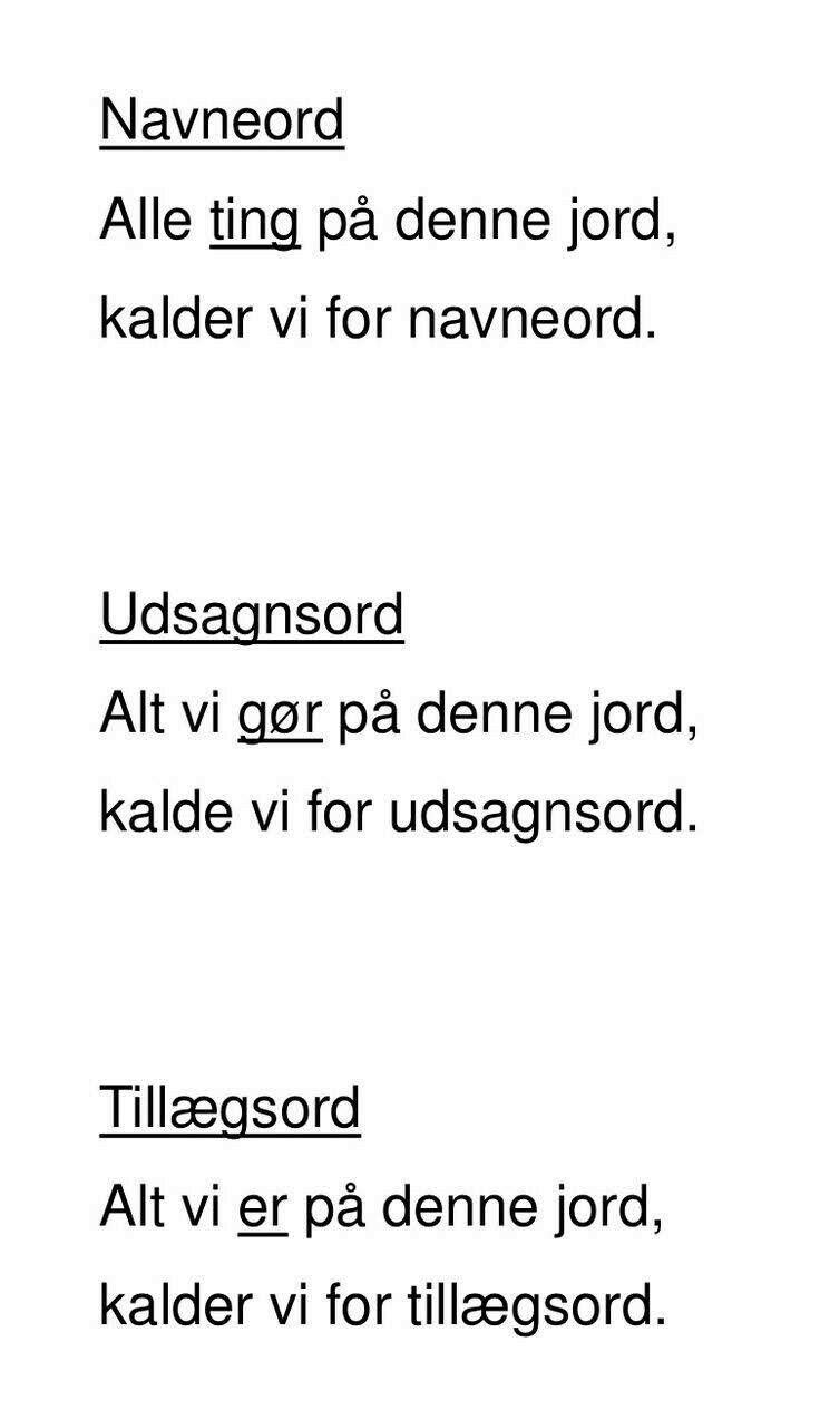 Pin Af Jette Sindal Stounbjerg Pa Laering Sjov Skole Skole Hacks Bornestavning