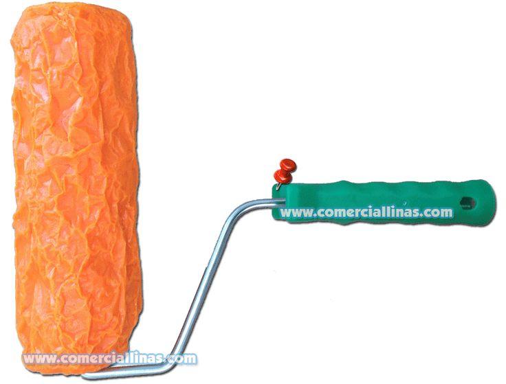 Rodillo textura 6. Moldes para hormigón impreso. La tienda de Comercial Llinás. http://tienda.comerciallinas.com/Hormigon-impreso/Herramientas/Herramientas-reparacion/Rodillos-reparacion