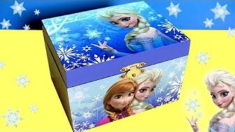 Princesa Ariel Caixinha de Música Surpresa Disney A Pequena Sereia com Elsa Frozen em Portugues BR - YouTube