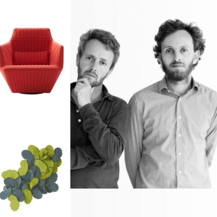 Los diseñadores Erwan y Ronan Bouroullec y sus icónicos diseños para Ligne Roset- sillón Facett