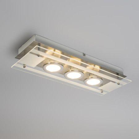 Deckenleuchte Pure Stahl Deckenlampe Lampe Innenbeleuchtung Wohnzimmerlampe