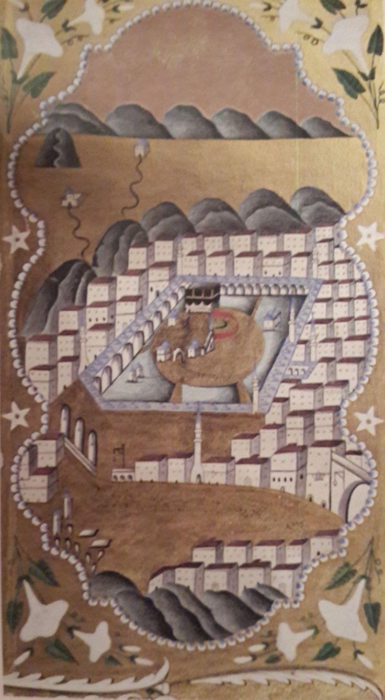 Kaaba-Kabe-Hilye-i Şerif-19.th century