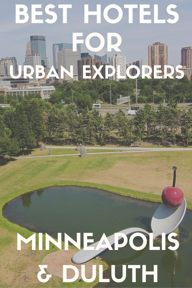 """Minnesota is known as the """"Land of 10,000 Lakes,"""" but that's not all it has to offer. Urban explorers can find points of interest here too. Whether you're just passing by or taking time to explore this Midwestern state, Minneapolis and Duluth are perfect destinations for you. Here are some of the best hotels in both cities, along with some tips on the top activities nearby."""
