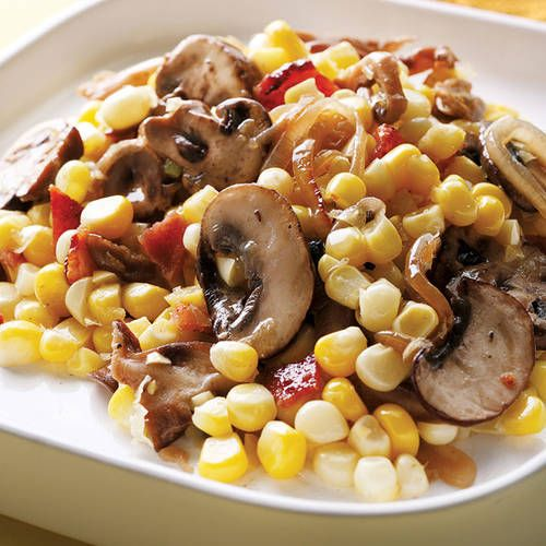 68 best recipe rehab better eats images on pinterest healthy will be making this today corn with bacon and mushrooms forumfinder Choice Image