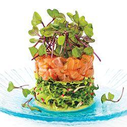 Salmon Ceviche Towers recipe - Fresh Juice