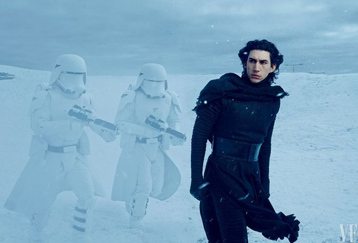 Adam Driver dans Star Wars - Le Réveil de la Force