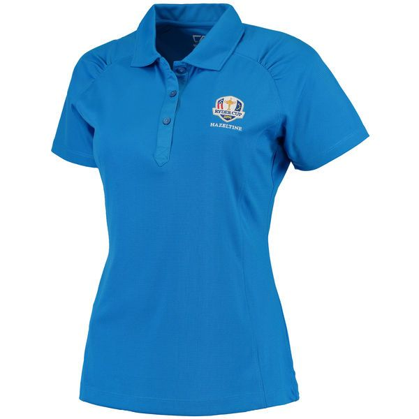 Cutter & Buck Women's 2016 Ryder Cup Northgate DryTec Polo - Blue - $37.49