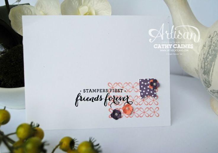 Leadership Display Boards Day 1: Star stamper by Cathy Caines @Stampin' Up!