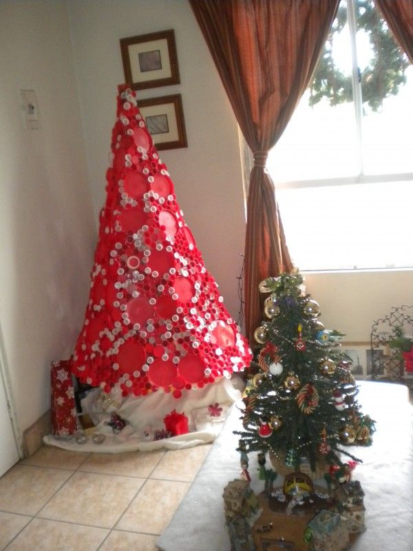 Plastic Bottle Caps Christmas Tree 38 best