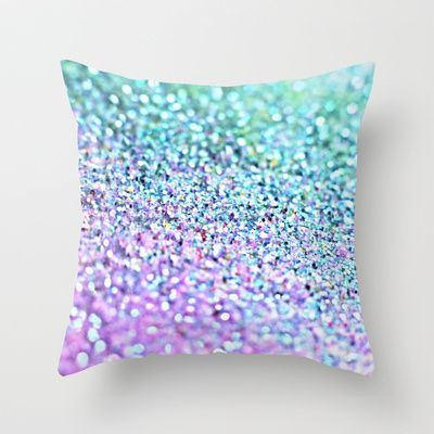 Little Mermaid Throw Pillow by M✿nika Strigel - $20.00