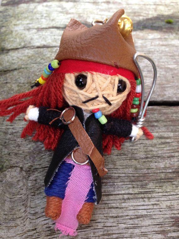 Poupées à la main de String Voodoo Doll Johnny par MyGameOfDolls