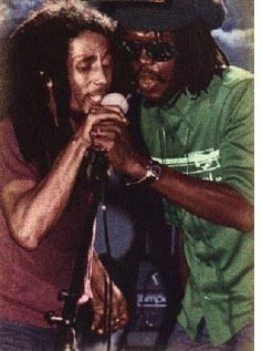Bob Marley & Peter Tosh.  I saw Peter Tosh in 1983 in Ann Arbor.  It was the most electrifying concert I had ever seen.